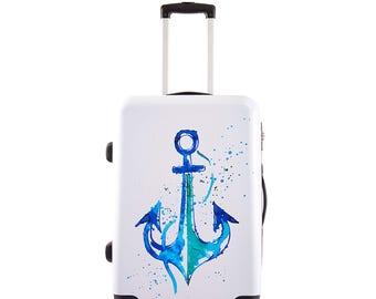 "BiggDesignAnemoSS Anchor Cabin Size Suitcase 20"""