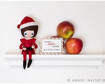 Elf Hides Candies, Naughty Elf Idea, Christmas Elf Accessories, Santa's Elf Prop, Elf Printable, Christmas Elf Ideas, Easy Elf Ideas
