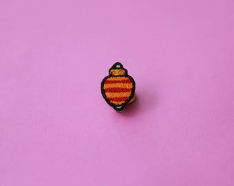 Taco Embroidered Pin