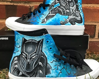 Black Panther Custom Shoes