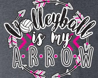 ARROW - Volleyball T-shirt