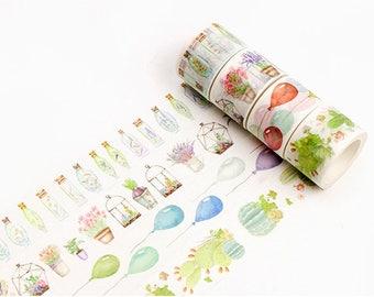Love Life Series Washi Tape Set #2 - Journal, Planner, Scrapbooking, Craft, Decoration