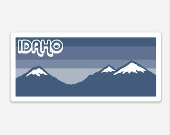 Idaho Mountains - Sticker/Decal