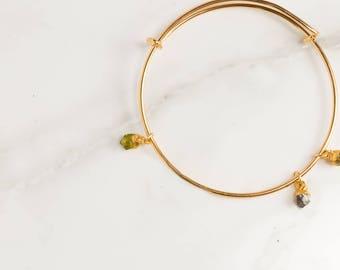 Three Gemstone Bracelet, Kids Birthstone Bracelet, Personalized Gift, Personalized Bracelets, Personalized Gifts, Christmas Gift for Her