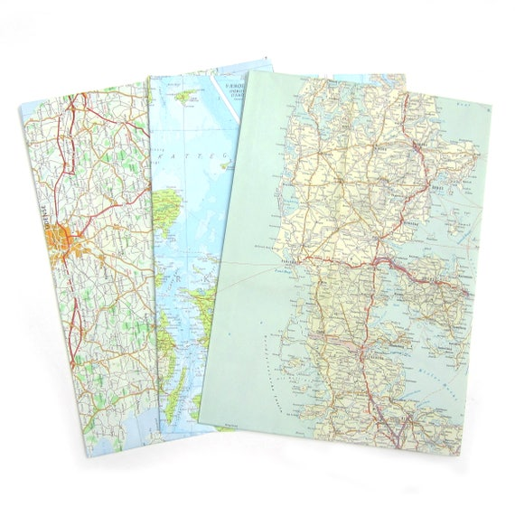 Set of 3 A4 envelopes - Europe variations