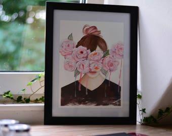 Blind love, art print