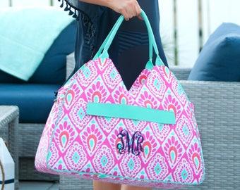 Beach Bag, Personalized Beach Bag, Monogrammed Beach Bag, Embroidered Beach Bag, FREE Personalization