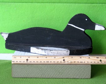 Folk Art, Stylized Duck, Unknown US Maker, Likely Made in the 1940's