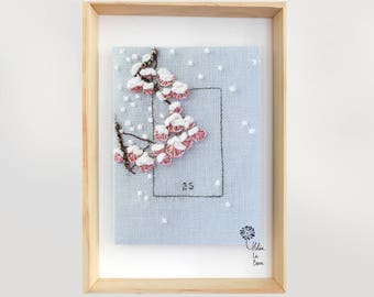 "Embroidery Kit ""Snow"" - Embroidery Kit ""SNOW"""