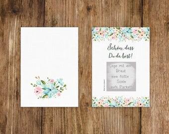 "50 Scratch Cards ""white wedding!"""