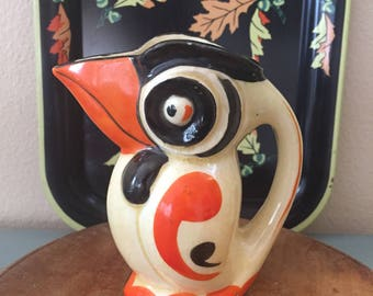 Vintage Toucan Creamer / Pitcher /  Made in Japan