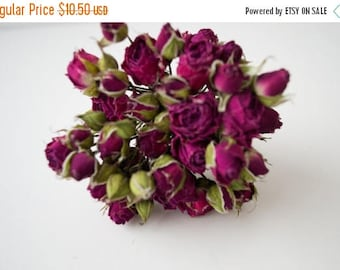 ON SALE Bouquet of dried roses, natural materials, floral, home decor, home decoration