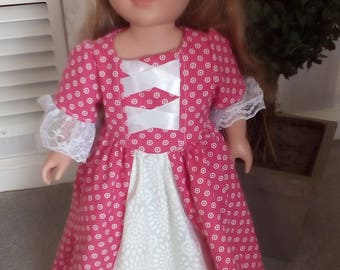 A Colonial Doll Dress