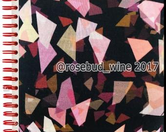 Retro Geometric Confetti Diamond Print Stretch Jersey Dressmaking Fabric AW/18
