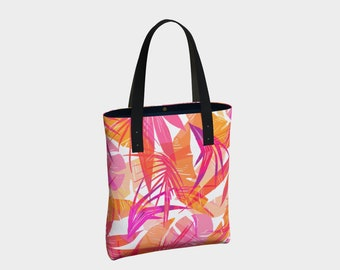 Pink Forest Tote Bag