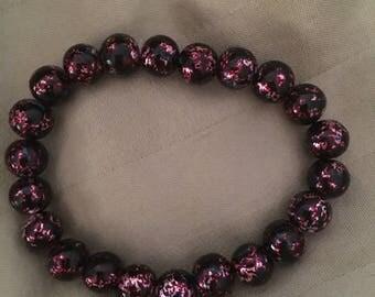 Metallic energy bracelet