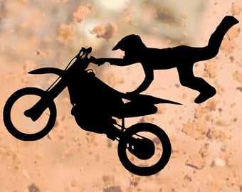 Dirtbike SVG - Fathers Day - SVG - Cut Files - SVGs - Svg Files - Svg Cut Files - Silhouette - Cricket - Svg Cuts - Cricket Files - Decal