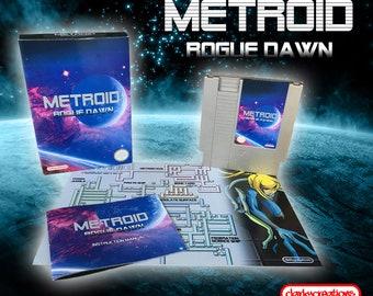 Metroid - Rogue Dawn CIB NES Nintendo