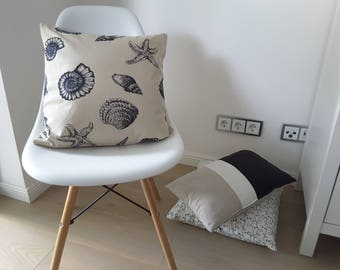 "Cushion cover ""Shells"""