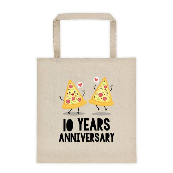 10th Anniversary Tote bag, 10th Wedding Anniversary Gift Idea, Funny Wedding Anniversary Tote bag, Tenth Anniversary, 10 Years Anniversary