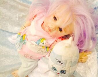 Pastel Goth Baby