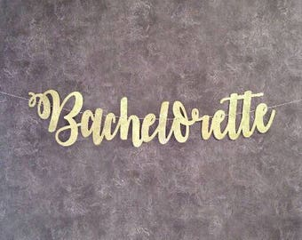 Bachelorette Wedding Decorations Banner, Rustic Wedding Decorations, Anniversary Banner, Lucky in Love