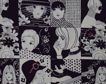 Chelsea Aubergine Deep Purple- Alexander Henry Cotton Fabric