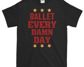 Quirky Ballet Loving Print Shirt Ideal For Ballet Dancers Ballet Teachers Ballet Mom Art Of Ballet