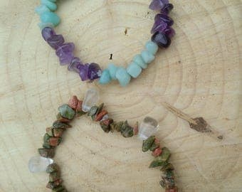 Gemstone Stretch Bracelets