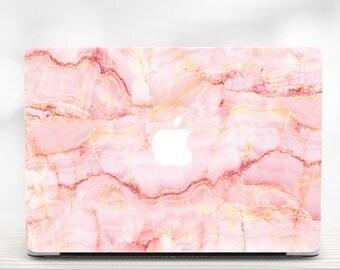Pink Marble Macbook 13 Case Macbook Pro Hard Case Macbook Pro Retina 13 Case Marble Macbook Air 13 Hard Case Macbook Air 11 Case Laptop Case