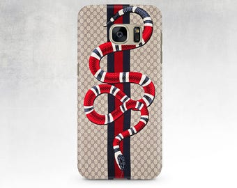 Gucci Red Snake iPhone Case Gucci Iphone 7 Gucci IPhone 6s Case Fashion Iphone case iPhone 7 Plus case Gucci Galaxy S7 Case Samsung S6 Gucci
