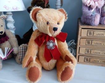 Decoration mohair bear, handmade