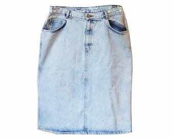 Acid Wash Vintage Skirt