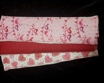 Love Bird Cloth Diaper Burp Cloth