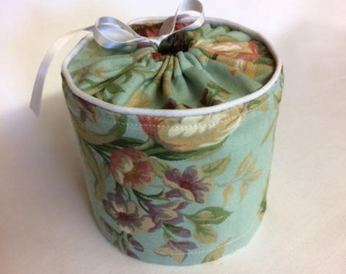 Shabby Chic, Bathroom Decor, Roses, Cottage, Bathroom, Toilet Paper Cover, Toilet Paper Storage,
