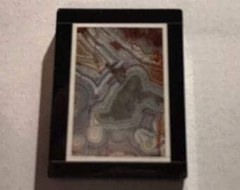 Jasper Intarsia Pendant #3