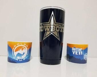 Powder Coated 20oz Dallas Cowboys 20oz