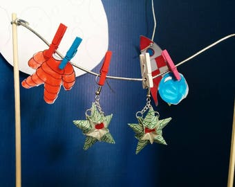 """Stars"" (ET_002) earrings"