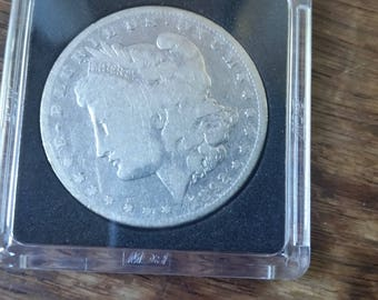1892-S Morgan  Silver dollar  better  date
