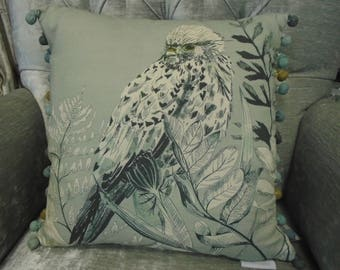 Voyage Maison Cushion. Birds of Pray Design. From the Natural History Collection. Design: C170074