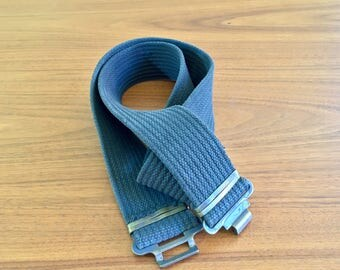Vintage 1950s Swedish military belt for your next outfit