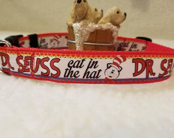 Handmade Dog collar 1 inch Wide Large Only Last One