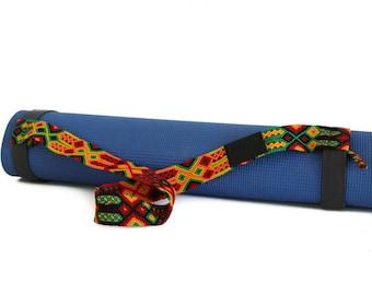 Yoga Mat Strap - Rasta