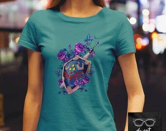 008 -- The Hylian and the Master (Alternate) -- Zelda Inspired Shirt -- S-6XL