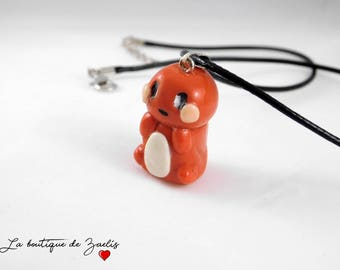 Charmander Pokemon Charmander pendant necklace
