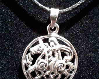 Sterling Silver Celtic Knot Work Horse #1217