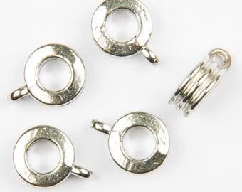 10 bails to Platinum European bracelet