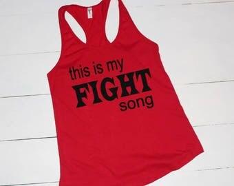 Gym, Gym Shirt, Workout Shirt, Ladies Tank, Workout Tank, Racerback Tank