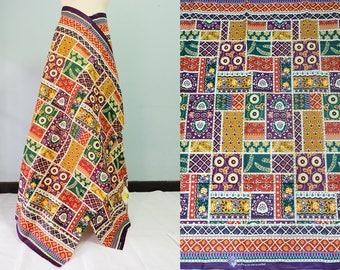 "SALE !!! 100% Cotton 42"" x 65""  Thai batik sarong, printed fabric, patchwork, Thailand"
