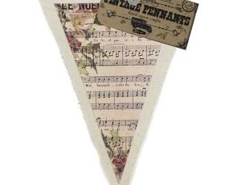 7gypsies Vintage Pennant - Noel